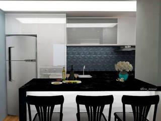 minimalist  by Aline Mozzer Arquitetura, Minimalist