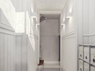 Santa Justa 60 - Stone Capital Corredores, halls e escadas modernos por Onstudio Lda Moderno