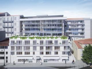 Santos Design - Stone Capital por Onstudio Lda Moderno