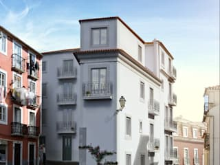 São Vicente 44 - Stone Capital por Onstudio Lda Moderno