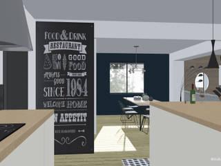 Cucina in stile  di Studio FDMD, Scandinavo