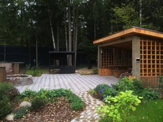 Jardines de estilo escandinavo por ПАН Ландшафт