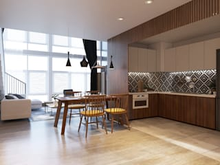 Kitchen by AT Design,