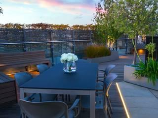 Designer gardens MyLandscapes Garden Design Balkon, Beranda & Teras Modern