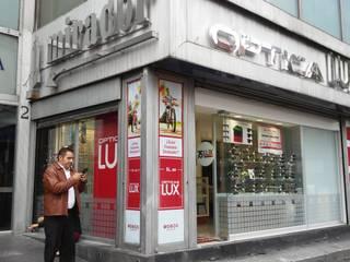 ÓPTICAS LUX TORRE LATINOAMERICANA de ADQA SPAZIO