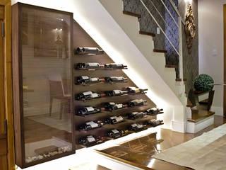 Bloco Z Arquitetura Ruang Penyimpanan Wine/Anggur Modern