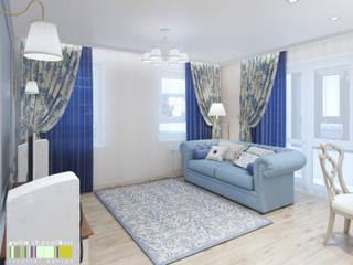Classic style living room by Мастерская интерьера Юлии Шевелевой Classic
