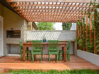 Eclectische tuinen van Bloco Z Arquitetura Eclectisch