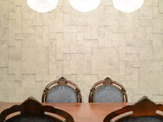 Bloco Z Arquitetura Eclectic style dining room