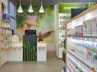 Artichok Design Offices & stores Green