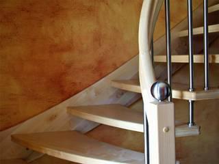 SCHOß INGENIEUR GmbH Classic style corridor, hallway and stairs