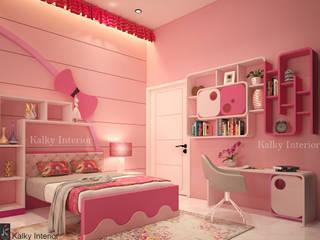 ห้องนอนเด็กหญิง by kalky interior