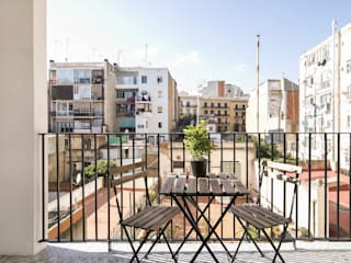 Gramil Interiorismo II - Decoradores y diseñadores de interiores Balcones y terrazas mediterráneos
