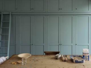 The Strawberry Hill Kitchen by deVOL deVOL Kitchens Kitchen units Wood Blue