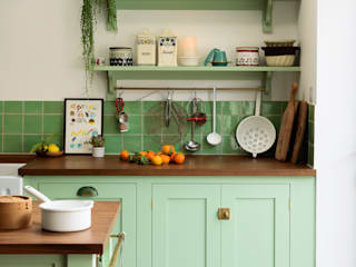 The Khoollect Kitchen by deVOL deVOL Kitchens Kitchen units Wood Green
