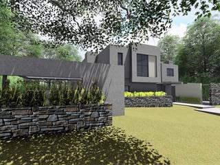 Duplex Villa Allende Casas modernas: Ideas, imágenes y decoración de f$Mac Moderno