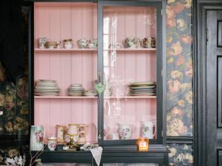 The Curiosity Cupboard by deVOL deVOL Kitchens Living roomCupboards & sideboards Wood Black