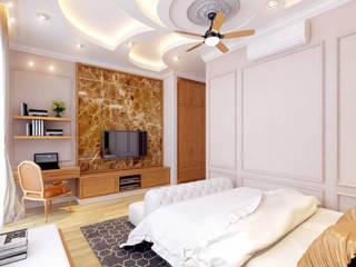 Những phòng ngủ mang dấu ấn riêng biệt Phòng ngủ phong cách hiện đại bởi Công ty TNHH Xây Dựng TM – DV Song Phát Hiện đại