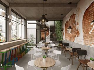 Fashion coffee bởi Công Ty Cp Thiết Kế Kiến Trúc Và Xây Dựng A9 Design Hiện đại