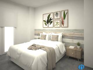 Grupo Inventia Moderne Schlafzimmer Beton Beige