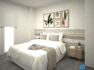 Grupo Inventia Kamar Tidur Modern Beton Beige