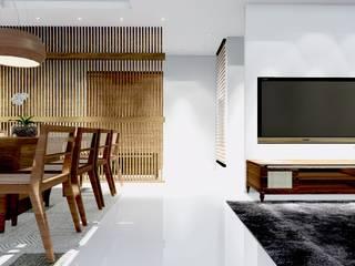Projeto 3D residencial Claudia Fonseca Designer de Interiores