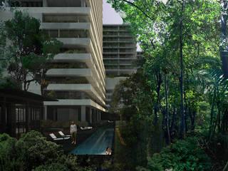 Desarrollo Las Terrazas - TAAU :  de estilo  por TAAU