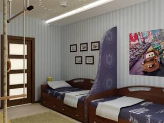 Детская Тачки: Детские комнаты в . Автор – Дизайн студия 'Exmod' Павел Цунев