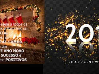 Boas festas e feliz ano novo Happy holidays and happy new year www.intense-mobiliario.com por Intense mobiliário e interiores Moderno