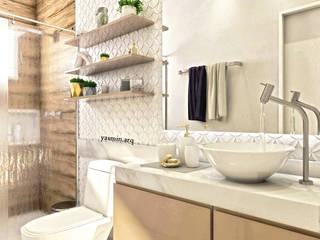 Moderne Badezimmer von Yasmin Giese Arquitetura e Interiores Modern