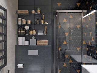 Phòng tắm phong cách chiết trung bởi Студия архитектуры и дизайна Дарьи Ельниковой Chiết trung