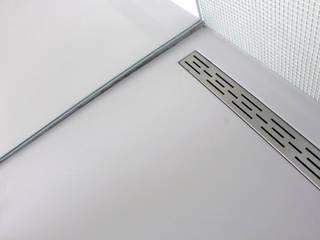 PU-Gietvloer als Basis voor een Tijdloos Interieur :  Badkamer door Motion Gietvloeren, Modern