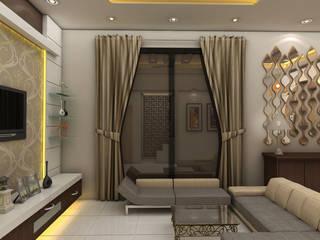Modern Living Room:  Living room by Creative Focus