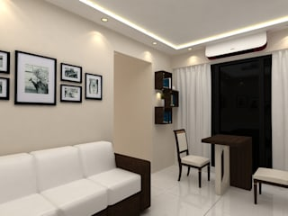 small living room:  Living room by Creative Focus
