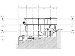 CASA VISTA ALTA: Casas de estilo  por Fstudio Arquitectura