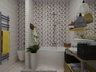 Зимние фантазии: Ванные комнаты в . Автор – ХаТа - design