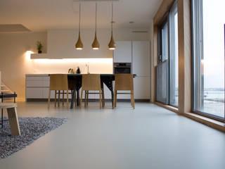 PU-Mono Gietvloer in Woning:  Vloeren door Motion Gietvloeren, Industrieel