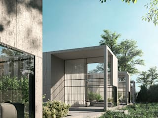 Rumah oleh Alyona Musina, Minimalis
