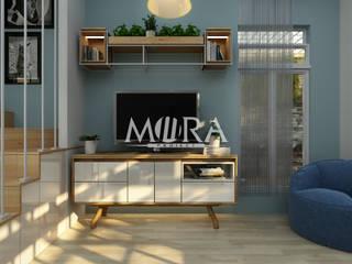 Renovasi Rumah Pribadi Surabaya:  oleh Maxima Studio Medan Interior Design & Arsitek, Skandinavia
