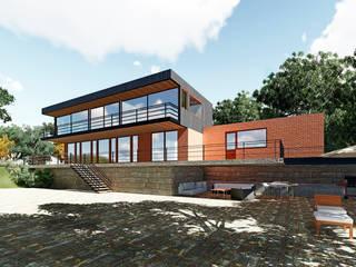 Remodelacion casa MQ: Casas de estilo  por NEF Arq.