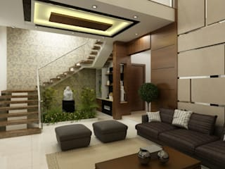 Mr . Subba Rao Home Interior Design:   by Walls Asia Architects and Engineers