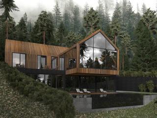 Minimalistische huizen van U-Style design studio Minimalistisch
