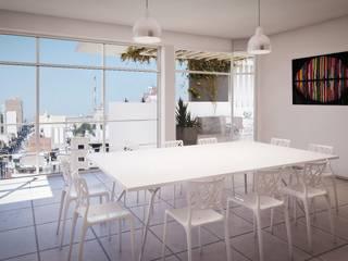 Arcadia 5: Terrazas de estilo  por Arcadia Arquitectura