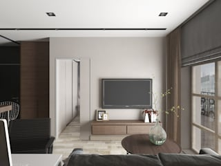 Salon de style de style Minimaliste par EEDS design