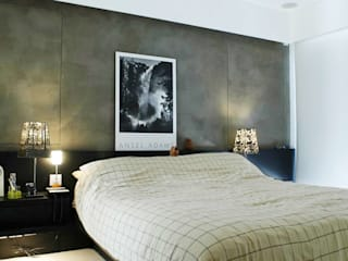 Formwell Garden:  Bedroom by Clifton Leung Design Workshop, Modern