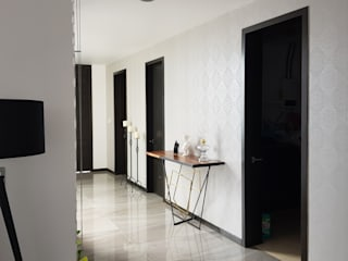 Modern Corridor, Hallway and Staircase by Arki3d Modern