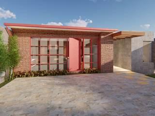Houses by Pedro Aguiar Arquitetura + Obra, Rustic