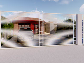 Дома в . Автор – Pedro Aguiar Arquitetura + Obra, Рустикальный