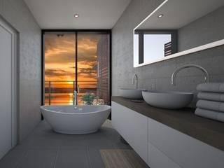 Baño: Baños de estilo  de Abaco Decoración