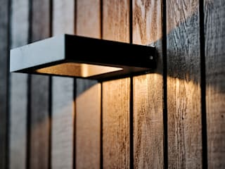 Buitenverlichting gevel:  Villa door BB architecten